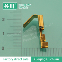 Hot sell Piggyback insert spring terminals Brass battery terminal Auto connector terminal DJ6212-D6.3B/C
