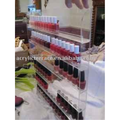 Clear Nail Polish Display Holder Wall Mounted