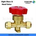 hand valve-flare type, for refrigeration and air conditioning