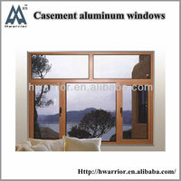 2013 newest casement window with blinds