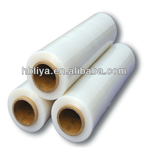 Wholesale plastic wrap clear manual stretch film