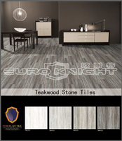 smooth and rough face teawood design ceramic tile flooring prices, terrace tile porcelain made in china
