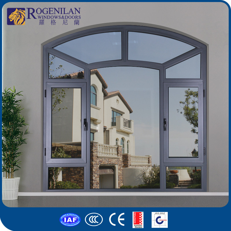 Rogenilan 45 customized aluminum simple style door latest for Simple window designs for homes