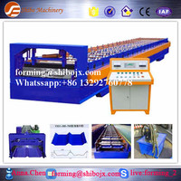 Arch Style Building Metal Cold Roof metal sheet jch machineJCH tile panel sheet roll forming machinery
