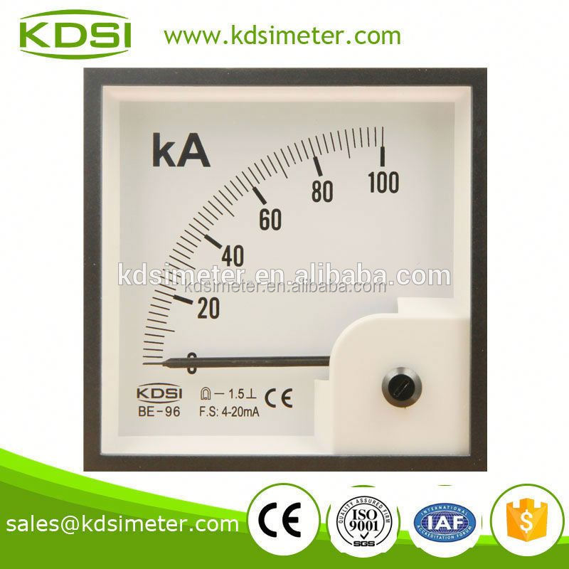 Portable precise BE-96 DC4-20mA 100KA voltage ampere meter