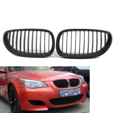 Front Black Sport Wide Kidney Grilles Grill For BMWS E60 E61 M5 5 Series 03-09