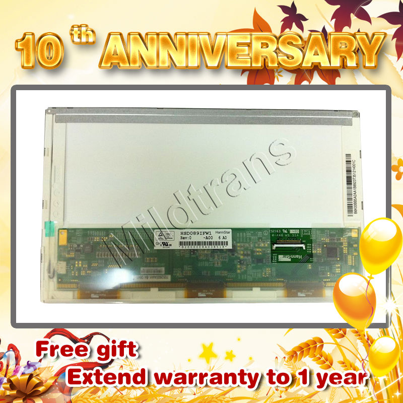 original A grade,notebook led screen 1024*600 B089AW01 with low price