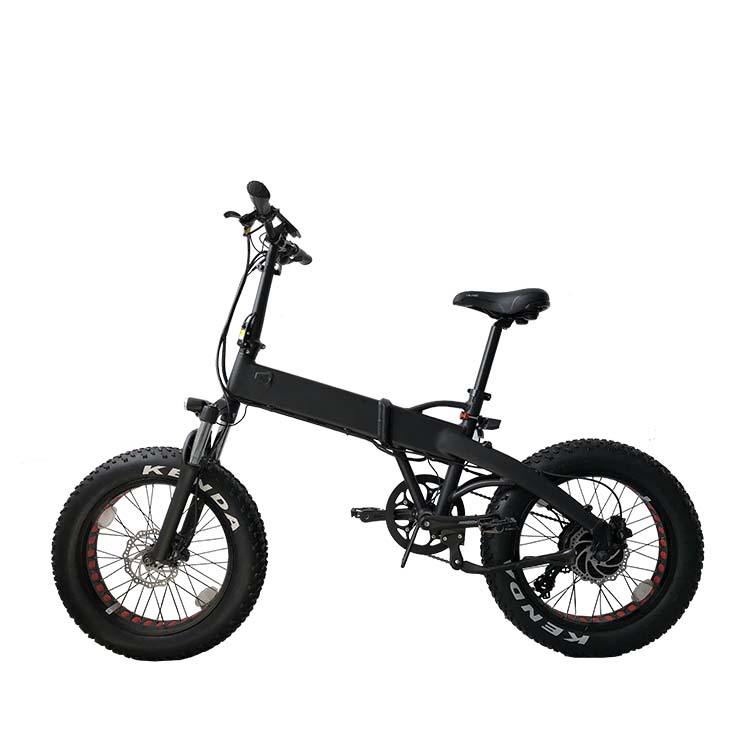 48v folding <strong>electric</strong> fat bike with hidden battery