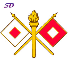 High quality Customized Plastic Poles Signal Flags