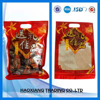 vacuum pouch sausage packaging/frozen salmon plastic bag