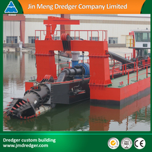 JMD500 20 inch Hydraulic cutter suction sand dredging ship machinery with spud carriage for sale