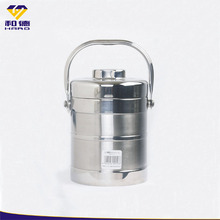 Customized large stainless steel food container with lid