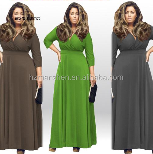 Fat size cheap party evening <strong>dress</strong> for fat women