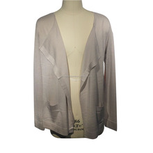 women natural wholesale bamboo silk clothing knit cardigan
