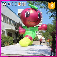 Event decoration cartoon advertising fruit giant inflatable apple doll