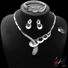 High End Handwork Bridal Dubai Gold Jewelry Set Most Popular Indian Gold Plated Jewellery Online
