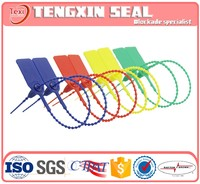 biodegradable recycle plastic seal and self-locking disposable high security plastic seal