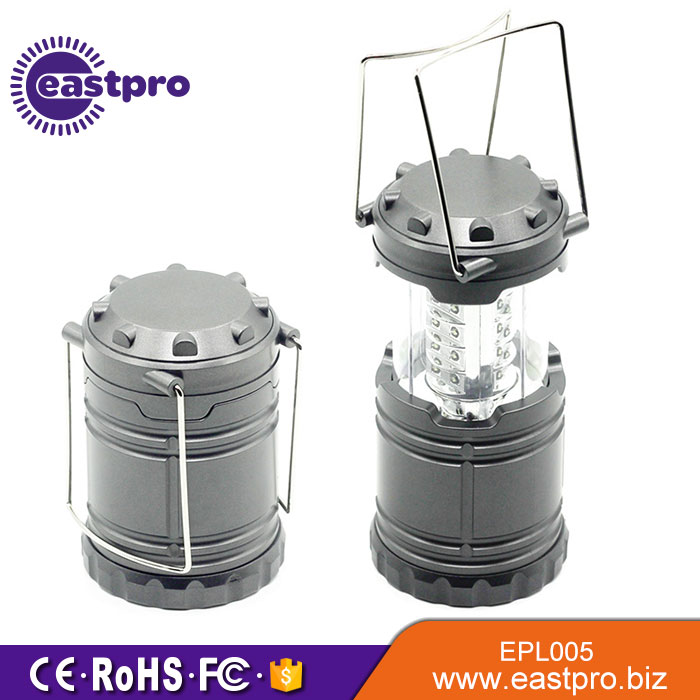 Cost Effective Collapsible Camping Lights 30 Bright LEDs 60LM camping led lanterns