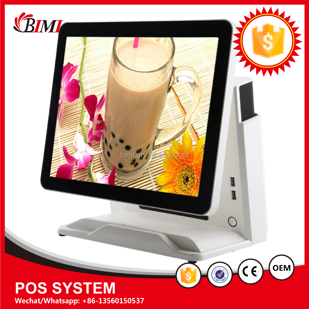 15 inch touch screen touch android pos device terminal with build In thermal printer pos thermal