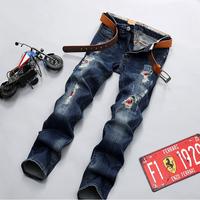 Fashion Men fancy ripped cheap jeans for men denim innovative design skinny jeans new style jeans pent men