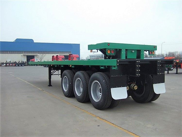 High quality flat bed gooseneck 40ft trailer