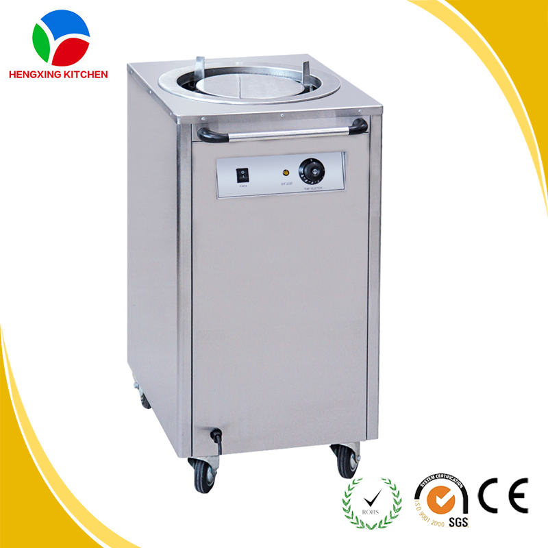 Commercial Kitchen Equipment Product ~ Restaurant plate warmer cart commercial