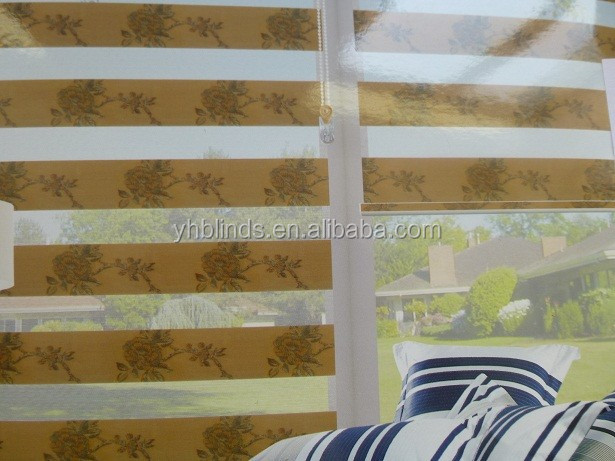 FASHIONABLE ROLLER ZEBRA BLINDS FABRIC