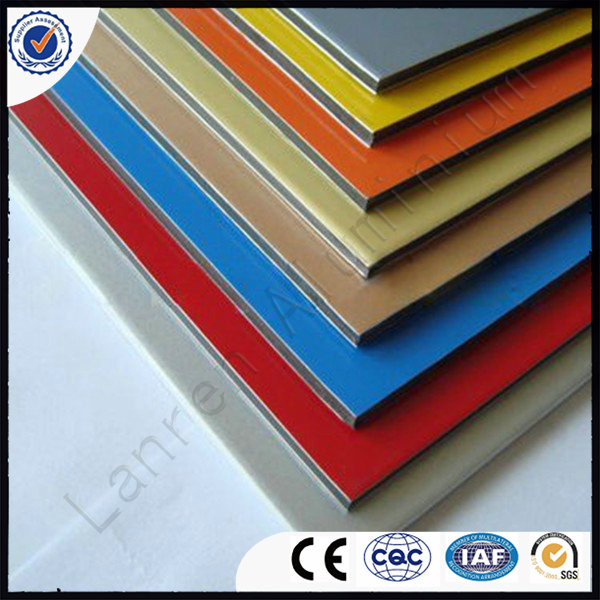 Easily Install Wall Cladding Colourful PE Aluminium Composite Panel Manufacturer