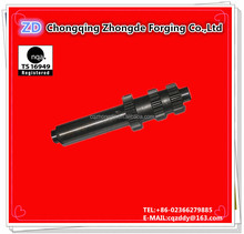 Auto parts axle shaft transmission gear shaft spare parts auto body parts