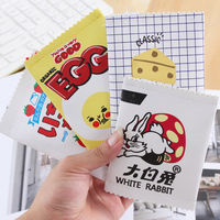 Cute Snack Design Small Leather Coin