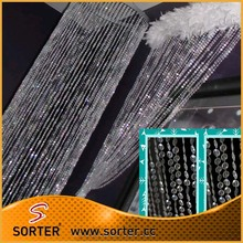 wholesale beads curtain/acrylic beaded curtains/crystal beads room dividers