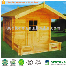 prefabricated children wooden playhouse