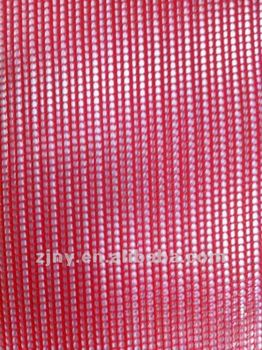 Red Color or Other Colors PVC Coated Mesh fabric