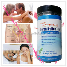 Safe and High quality supplement treate prostate,pollen tea made in hospital TCM,better than any enlarged prostate treatment