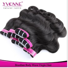 China wholesale grade aaaa virgin brazilian remy hair extension