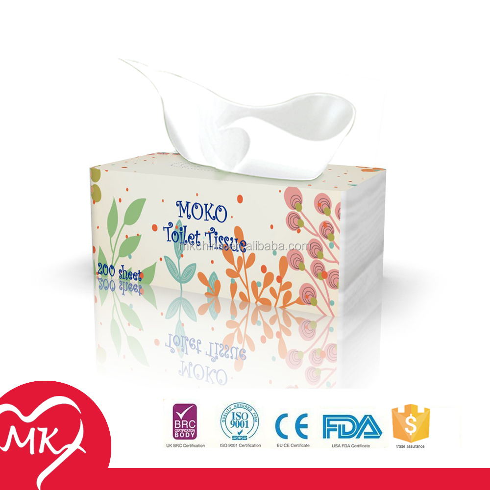 100% virgin wood pulp or Recycled OEM soft tissue wrapping paper custom printed tablet refreshing tissue paper