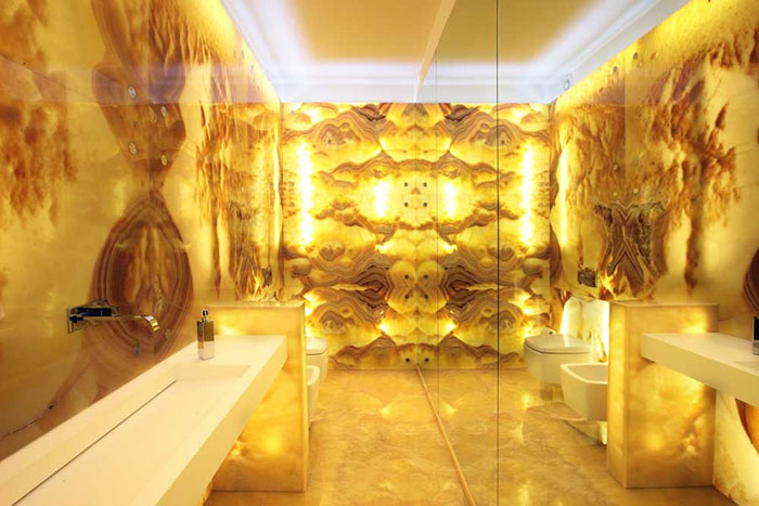 hotel house decorative orange jade onyx slab backlit onyx wall panel for sale