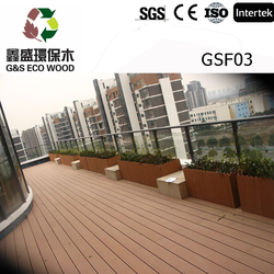 Superior Quality outdoor solid wood flooring / gym flooring for playground / outdoor laminated wood flooring