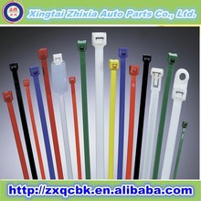 Colorful Custom Logo Printed Nylon Cable Tie/Adjustable Cable Ties