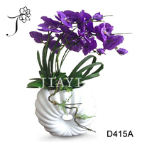 Best Selling Decorative Artificial Table Top Orchid Flower Centerpieces for Weddings