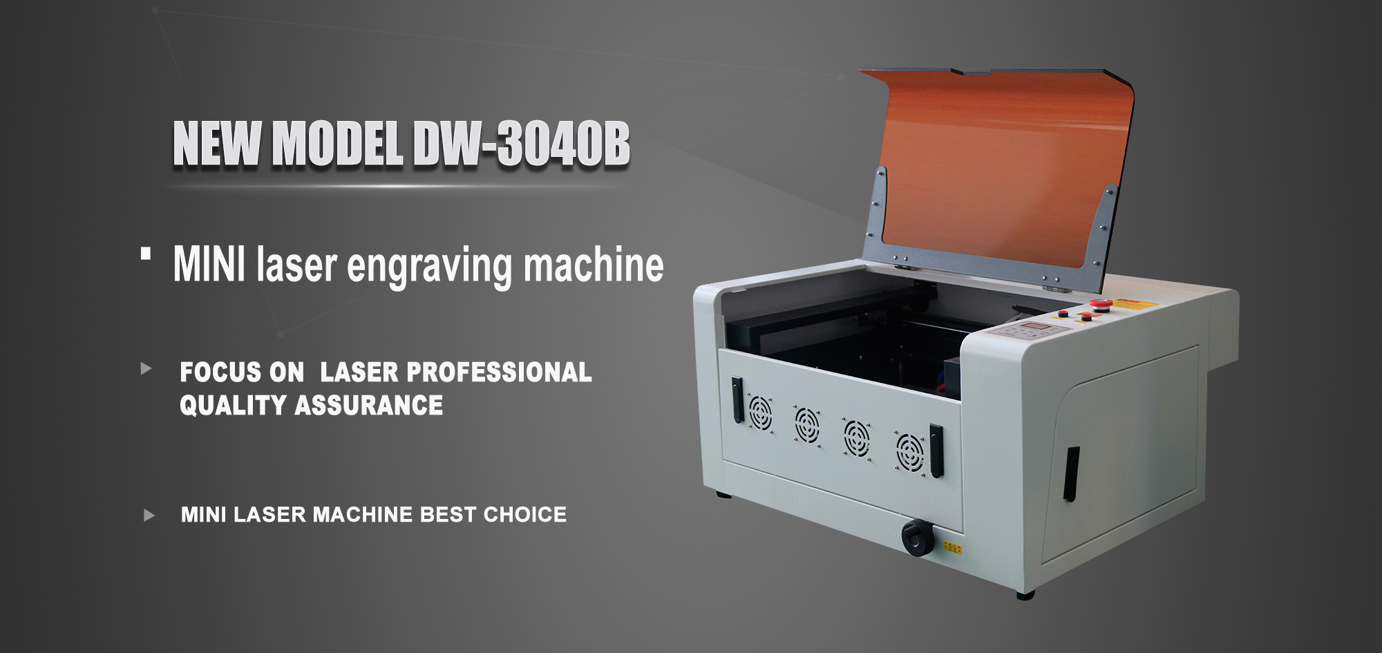 Portable Mini metal laser engraving machine desktop laser engraver