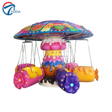 kids play games theme park equipment flying carpet/ amusement machine for sale