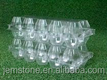 plastic egg tray in different kinds of shapes or material
