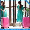 2014 customized luggage travel bags/suitcase for women