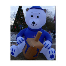 christmas inflatable bear for outdoor decoration