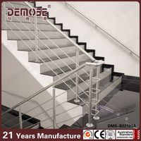 prefabricated handrails for outdoor steps / stainless steel staircases handrails design