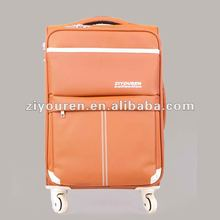 2012 fashioable design travel trolly luggage bag