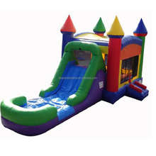Hot sale giant funny fortress inflatable bouncer indoor play jumping castle for baby