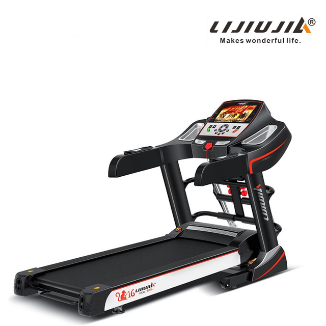 automatic walking machine for foldable black treadmill of good body