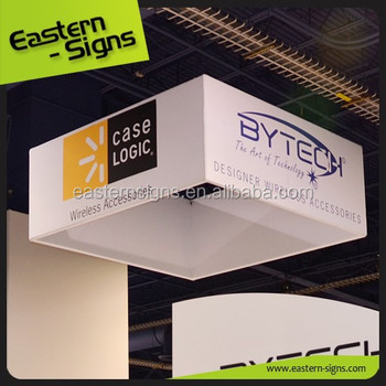 Tapered Square Hanging Banner Sign Printing